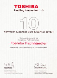 Toshiba-Fachhändler